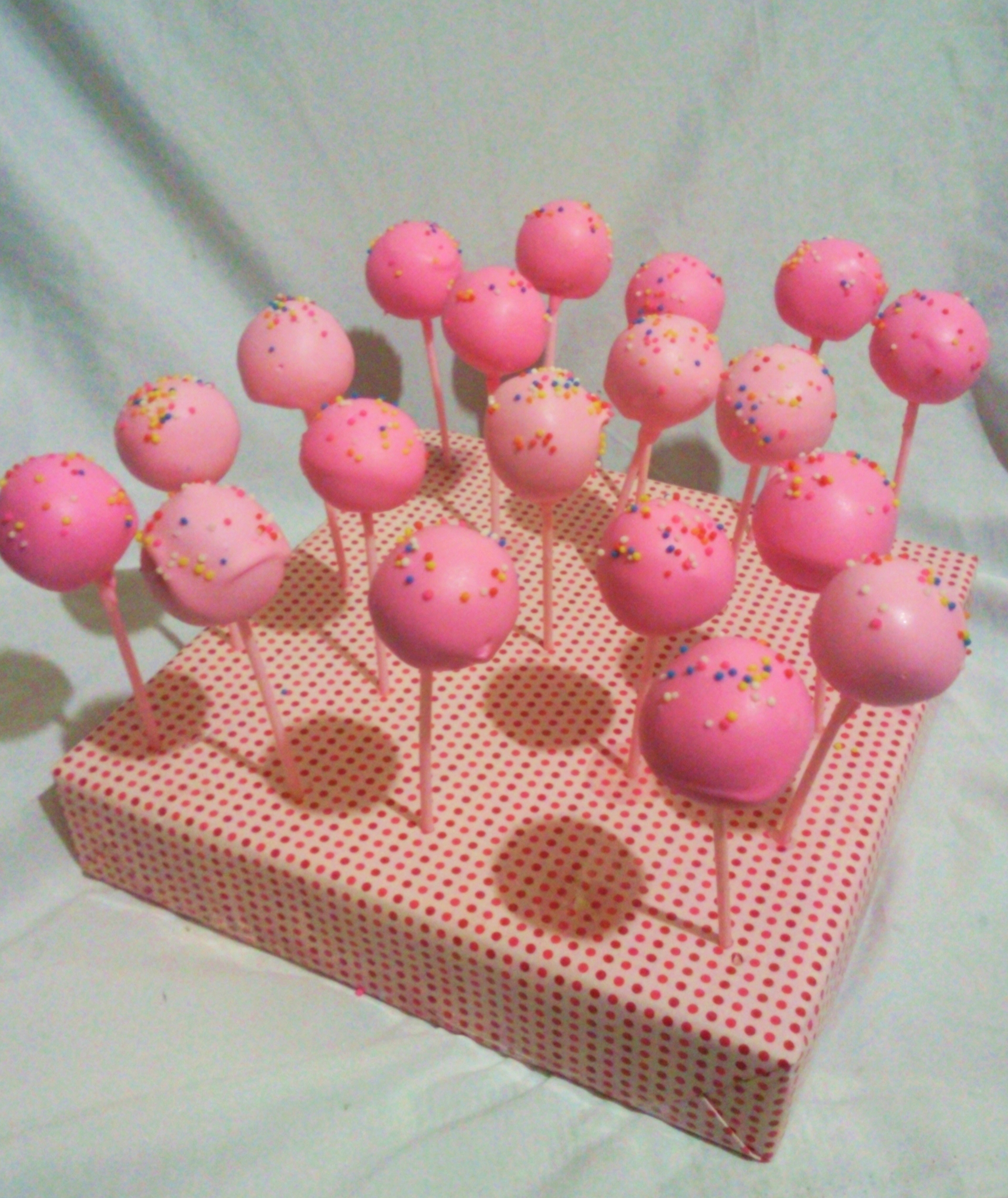 birthday cake pops | babybearsecretbakeshop